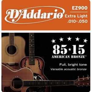 D'Addario zice za ak. gitaru .010 - .050