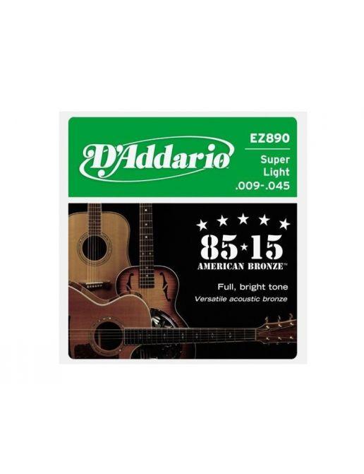 D'Addario žice za ak. gitaru .009 - .045  EZ890