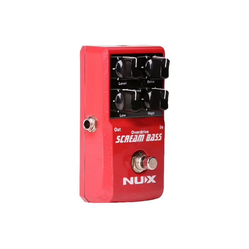 NUX pedala Scream Bass Overdrive