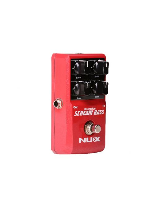 NUX pedala Scream Bass Overdrive