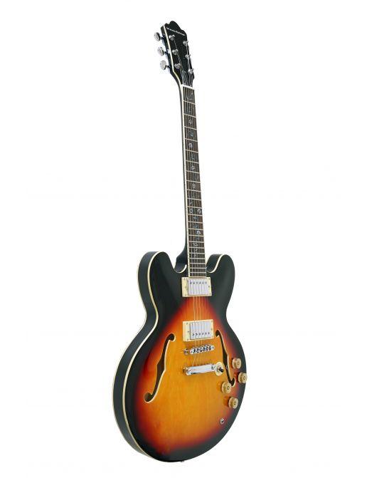 SJ-01 Poluakustična Gitara