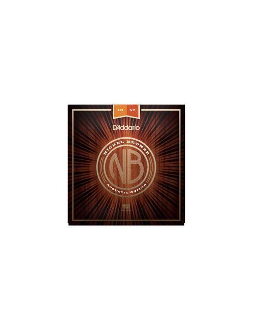 D'Addario NB 10-47 žice za akustičnu gitaru