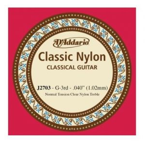 G 3. žica za klasičnu gitaru D'addario