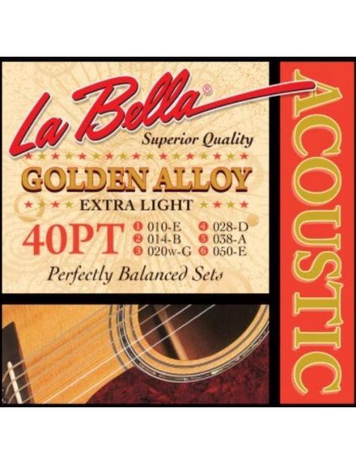 Žice za Ak. Gitaru La Bella Extra Light 10-50