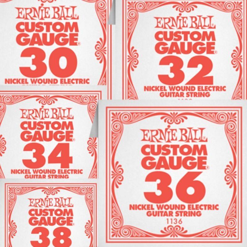 Žice na komad Ernie Ball 30-38 Nickel Wound